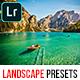 20 Pro Landscape Lightroom Presets - GraphicRiver Item for Sale