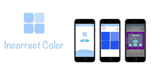 Incorrect Color - iOS Game