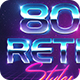80s Style text effect V2 - GraphicRiver Item for Sale