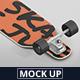 Freeride Longboard Mockup - GraphicRiver Item for Sale