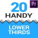 Handy Lower Thirds - VideoHive Item for Sale