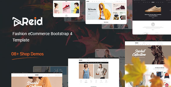 Reid – Fashion eCommerce HTML Template