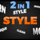 Bumper Transitions Youtube Pack 2 in 1 - VideoHive Item for Sale
