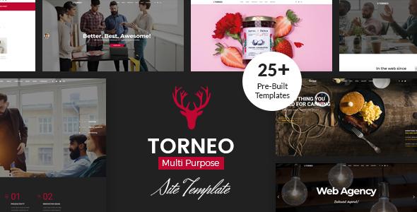 Torneo - Creative Agency Multi-purpose HTML Template
