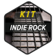 Energetic Indie Rock Kit