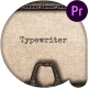 Typewriter Stomp Intro - VideoHive Item for Sale