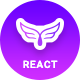 Farfly - Creative App Landing React Template - ThemeForest Item for Sale