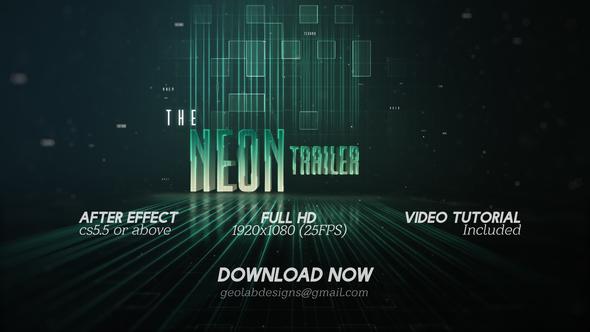 The Neon Trailer