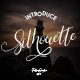 Silhouette Signature Font - GraphicRiver Item for Sale