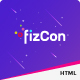 Fizcon – Event, Meeting & Conference HTML5 Template - ThemeForest Item for Sale