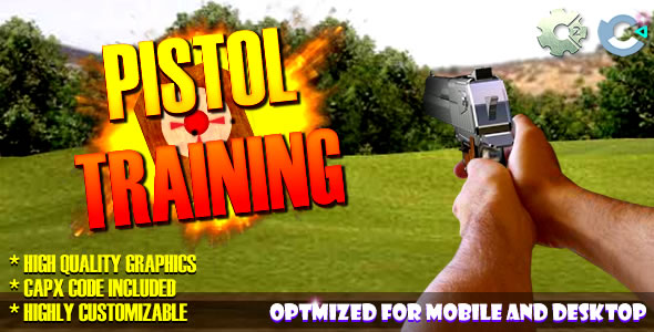 Pistol Training - (C2/C3/HTML5) Game.
