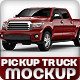 Pickup Mock-Up based on truck Toyota Tundra Crewmax - GraphicRiver Item for Sale