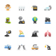 Pollution - Color Vector Icons - GraphicRiver Item for Sale