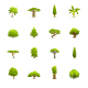 Trees - Color Vector Icons - GraphicRiver Item for Sale