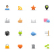 Social Network & Blog - Color Vector Icons - GraphicRiver Item for Sale