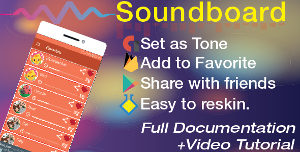 Ringtones&Soundboard with Share|Set as Tone|Favorite Download