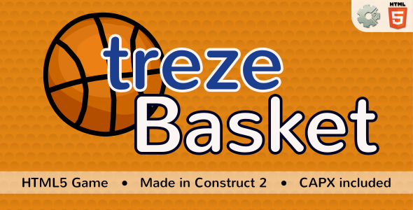 trezeBasket - HTML5 Sport game Download