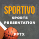 Sport Powerpoint Template - Sportivo - GraphicRiver Item for Sale