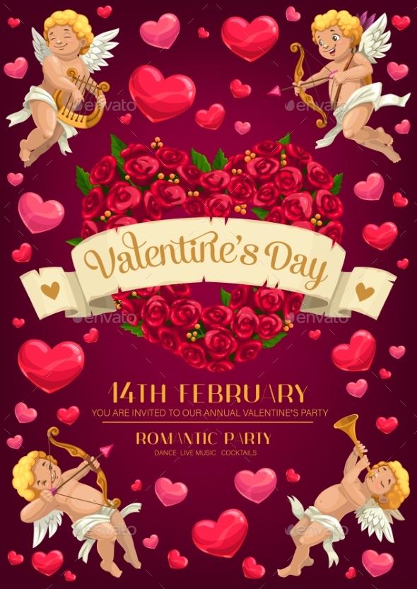 Cupids Valentines Day