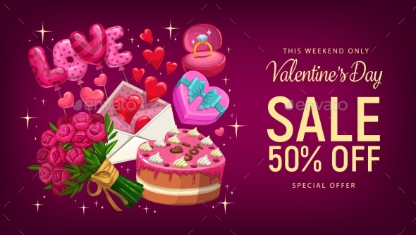 Valentines Day Gifts and Hearts