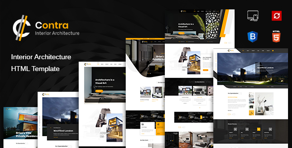 Contra | HTML Template for Architecture, Construction, and Interior Design