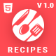 Ranna - Food & Recipe Blog Bootstrap 4 Template - ThemeForest Item for Sale
