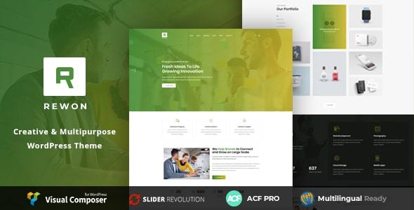 Rewon - MultiPurpose Business WordPress Theme