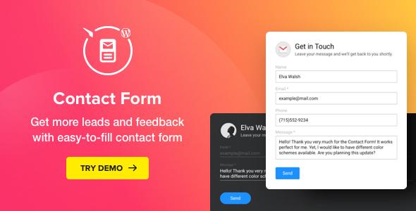 Contact Form - WordPress Contact Form Plugin