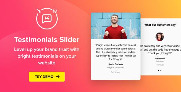 Testimonials Slider - WordPress Testimonials Plugin Download
