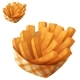 Sweet Potato Fries in Paper Box - GraphicRiver Item for Sale