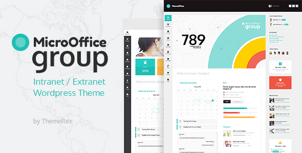 Micro Office | Extranet & Intranet WordPress Theme