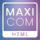 Maxicom - Internet Company HTML Template - ThemeForest Item for Sale