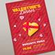 Valentine's Dinner Flyers - GraphicRiver Item for Sale