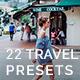 22 Travel Lightroom Presets - GraphicRiver Item for Sale