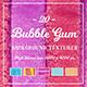 20 Bubble Gum Background Textures - 3DOcean Item for Sale