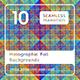 10 Holographic Foil Backgrounds - 3DOcean Item for Sale