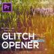 Glitch Opener for Premiere Pro - VideoHive Item for Sale