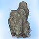 Game Ready Realistic Rock 01 - 3DOcean Item for Sale