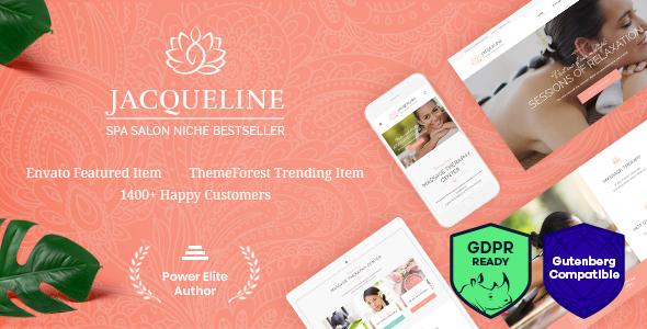 Jacqueline   Spa & Massage Salon WordPress Theme