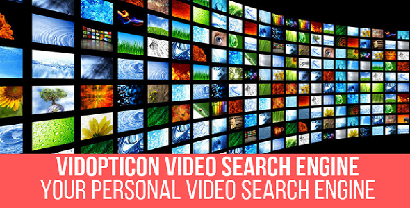 Vidopticon - Video Search Engine Plugin for WordPress