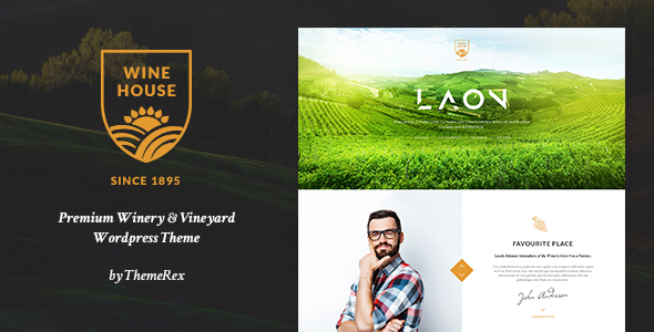 Laon | Wine House, Vineyard & Liquor WordPress Theme + Shop