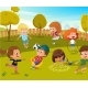 Baby Play Kindergarten Playground - GraphicRiver Item for Sale