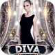 Diva Midnight Flyer Template - GraphicRiver Item for Sale