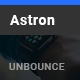 Astron - Business Unbounce Landing Page Template - ThemeForest Item for Sale