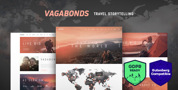 Vagabonds | Personal Travel & Lifestyle Blog WordPress Theme
