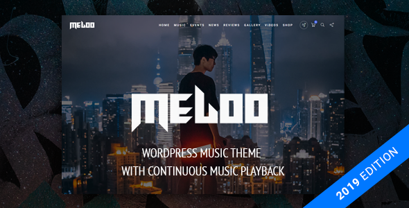 Meloo -  Music Theme for WordPress