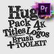 70 Grunge Titles For Premiere Pro   MOGRT - VideoHive Item for Sale