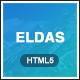 Eldas - Isometric Portfolio HTML5 Template - ThemeForest Item for Sale