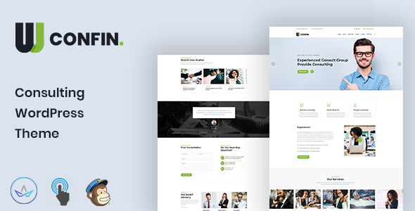 Confin - Consulting Business WordPress Theme