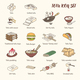 Cooking Tofu Icon Collection - GraphicRiver Item for Sale